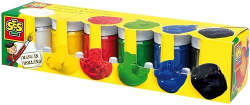 SES - Plakkaatverf in Basis Kleuren
