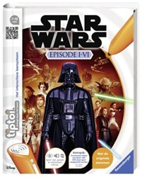 Tiptoi - Star Wars Episode I-VI Boek