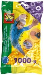 Strijkkralen 1000 stuks Geel