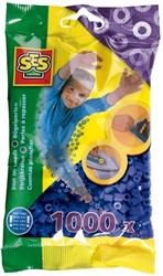 Strijkkralen 1000 stuks Donkerblauw