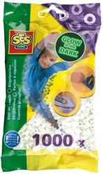 Strijkkralen 1000 stuks Glow in the Dark