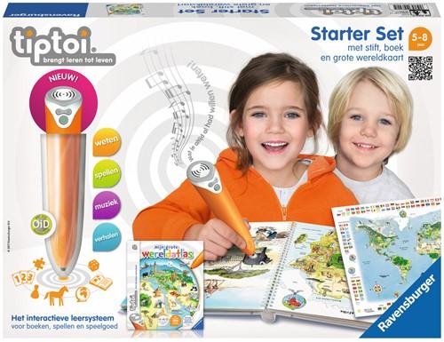 Tiptoi Starterset - Stift + Wereldatlas