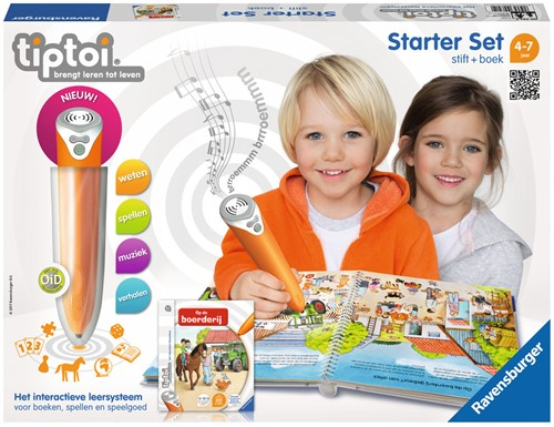 Tiptoi Starterset - Stift + Op De Boerderij