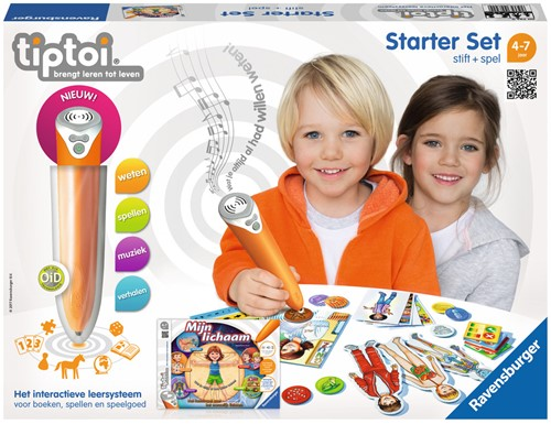 Tiptoi Starterset - Stift + Mijn lichaam