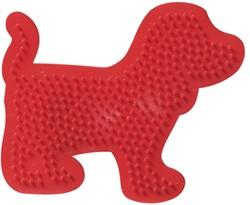 Strijkkralen Bord: Hond