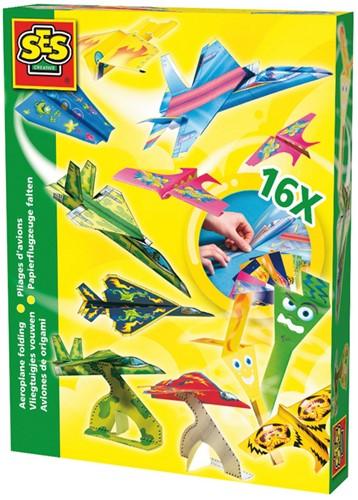 SES - Vliegtuigjes Vouwen