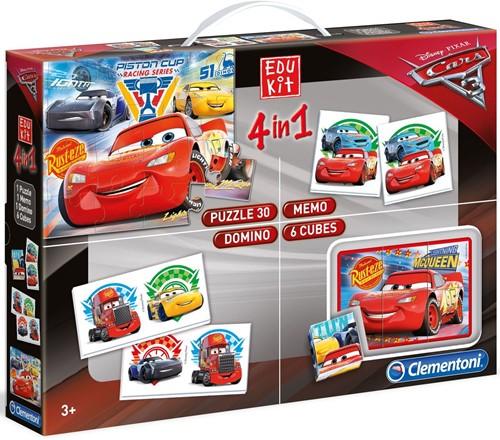 Cars 3 - Edukit 4 in 1 Spellen