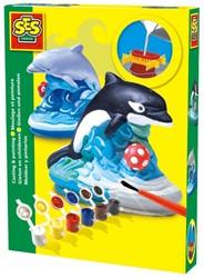 SES Figuren Gieten en Schilderen - Dolfijn