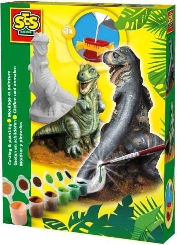 SES Figuren Gieten & Schilderen: T-Rex