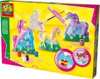 SES Figuren Gieten en Schilderen - Paarden