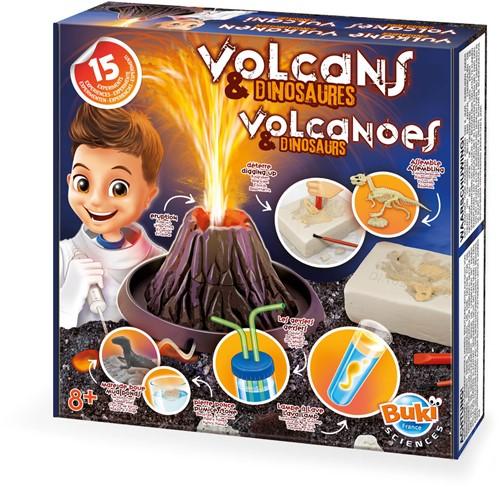 Experimenten Scheikunde - Vulkanen en Dinosaurussen