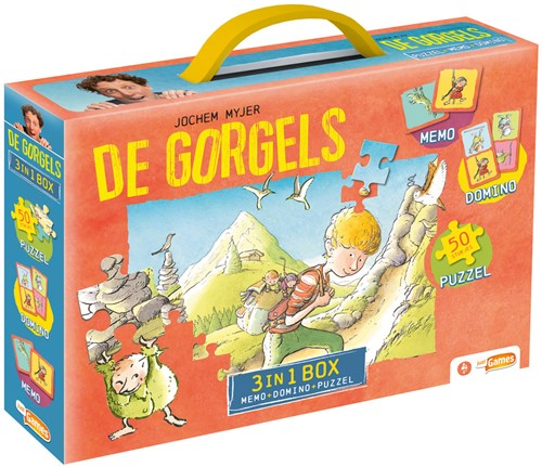Gorgels 3-in-1 Box (Puzzel+Memo+Domino)