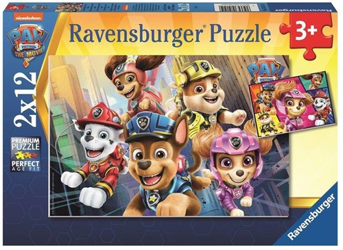 Paw Patrol - Helper op 4 Poten Puzzel (2 x 12 stukjes)