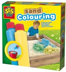 SES Zand Keuren Blauw/Geel