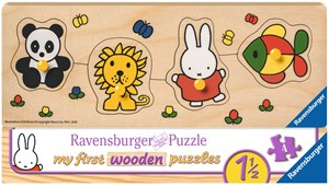 Nijntje in de Dierentuin Puzzel (4 Puzzels)