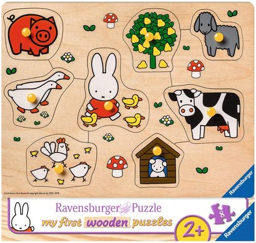 Nijntje op de Boerderij Puzzel (8 stukjes)
