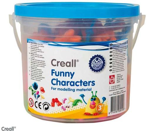 Creall - Funny Characters voor Klei