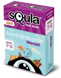 Kaartspel Squla: Aardrijkskunde Wereld