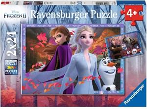 Frozen 2 - Ijzige Avonturen Puzzel (2x24 stukjes)