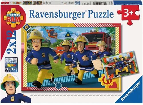 Sam en zijn Team Puzzel (2x12 stukjes)