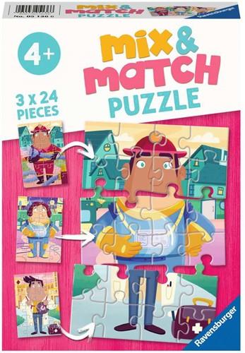 De Leukste Beroepen Puzzel (3 x 24 stukjes)