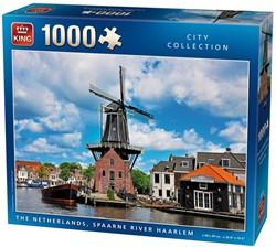 Spaarne Rivier Haarlem Puzzel (1000 stukjes)