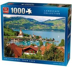 Thun Lake Zwitserland Puzzel (1000 stukjes)