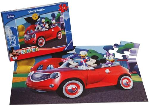 Mickey Onderweg Vloerpuzzel (Doos beschadigd)