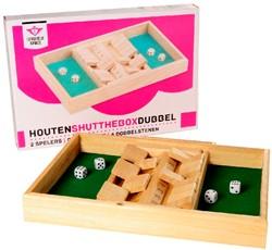 Houten Shut The Box Dubbel