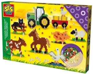 Strijkkralen set boerderijdieren