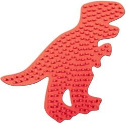 SES Strijkkralen Bord: T-Rex