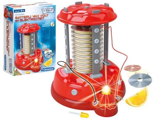 Wetenschap & Spel - Batterij van Volt & Elektriciteit