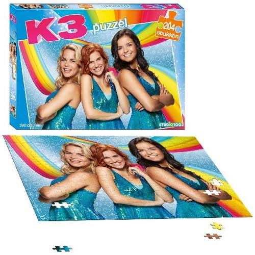 K3 Puzzel (204 stukjes)