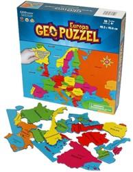 GeoPuzzel Europa (58 stukjes)