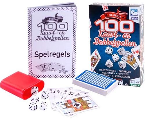 100 Kaart- & Dobbelspellen