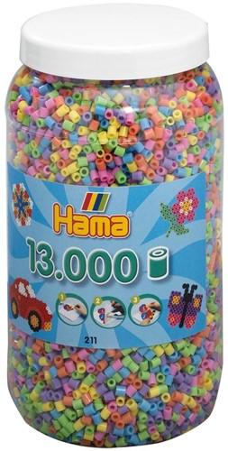 Hama - Strijkkralen Pot (13.000 stuks)