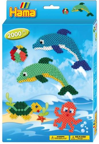 Hama - Dolfijnen Strijkkralen (2000 stuks)