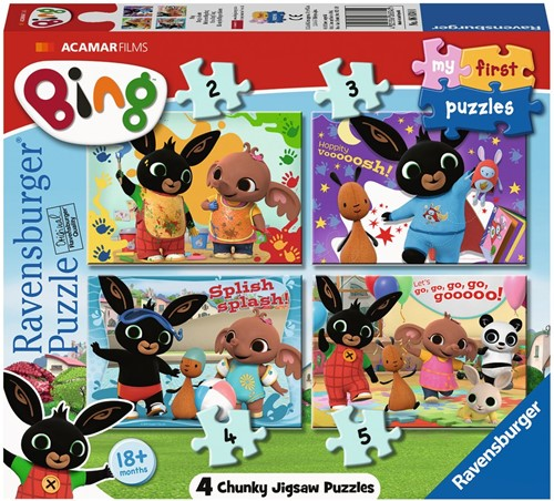 My First - Bing Bunny Puzzel (4 in 1)