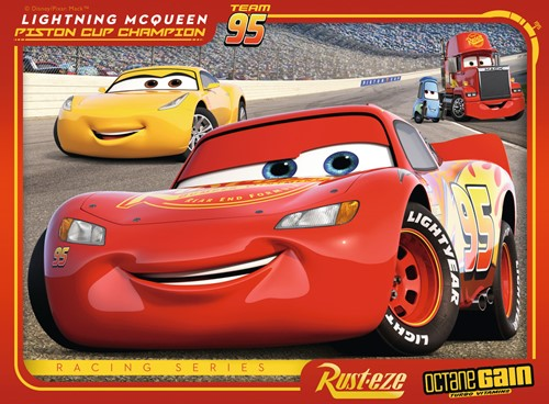 Disney Cars 3 - Let's Race Puzzel (4 in 1)-3