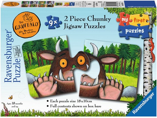 The Gruffalo Puzzel (9x2)