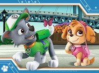 Paw Patrol Puzzel (4 in a box)-2