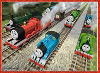 Thomas & Friends Puzzel (4 in a box)-3