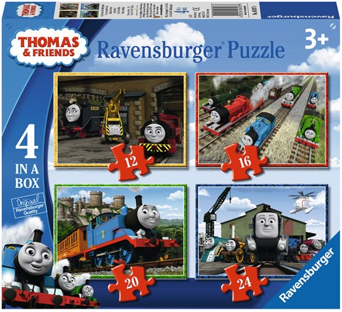 Thomas & Friends Puzzel (4 in a box)
