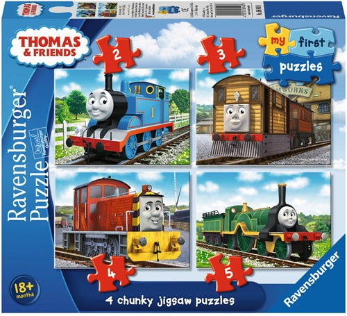 Thomas & Friends 2 Puzzel (2+3+4+5)