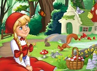 Efteling - Betoverend Sprookjesbos Puzzel (4 in 1)-2