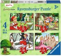 Efteling - Betoverend Sprookjesbos Puzzel (4 in 1)
