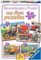 My First Puzzel - Aan het Werk (4 in 1)-1