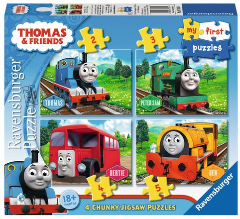 My First - Thomas & Friends Puzzel (4 in 1)-1