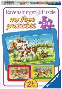 My First - Mijn Dierenvriendjes Puzzel (3x6 stukjes)