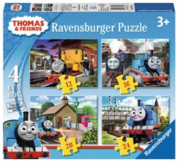 Thomas & Friends Puzzel (4 in 1)